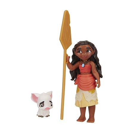 Маленькая кукла Princess Моана с веслом (B8299EU40)