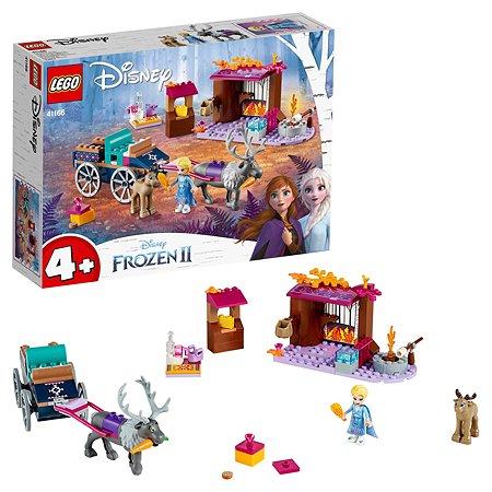 Конструктор LEGO Disney Frozen Дорожные приключения Эльзы 41166