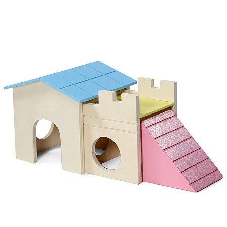 Комплекс игровой для грызунов Triol Little town Домик 42031016