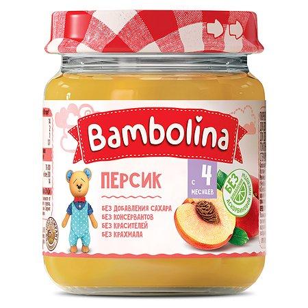 Пюре Bambolina персик 100г с 4месяцев