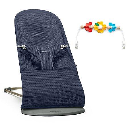 Кресло-шезлонг BabyBjorn Balance Bliss с игрушкой 6060.03
