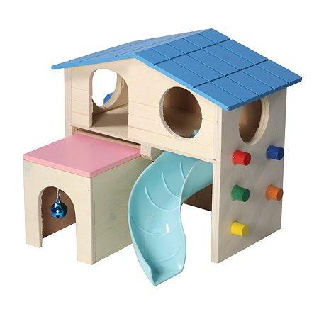 Комплекс игровой для грызунов Triol Little town Раздолье 42031017
