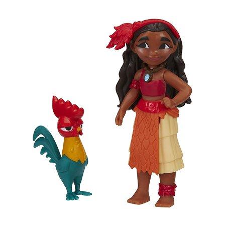 Маленькая кукла Princess Моана и петух (B9174EU40)