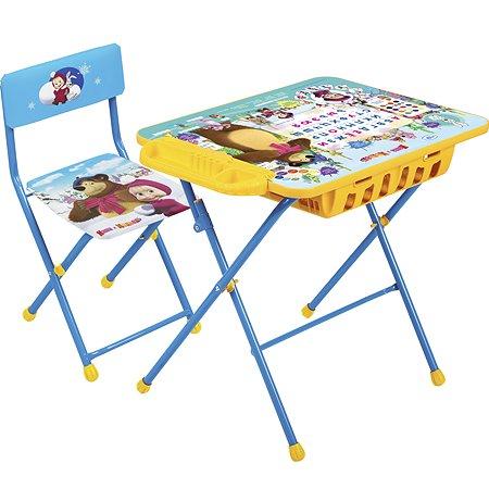Комплект мебели NiKA kids Азбука 2 Маша и медведь