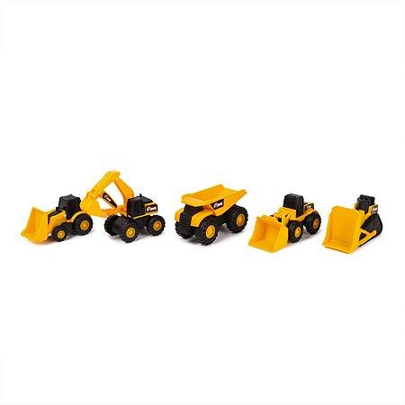 Набор мини-машинок Rhino Construction Спецтехника 5 шт. 30030