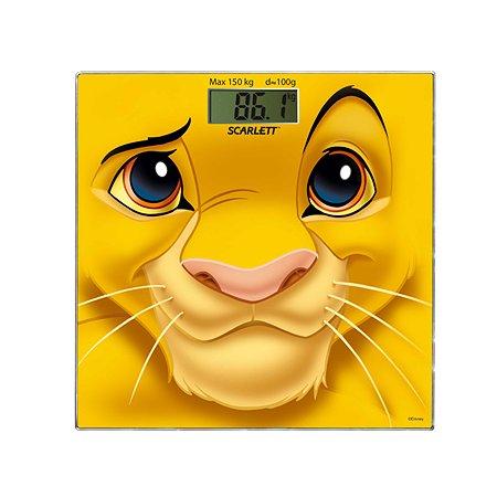 Напольные весы Scarlett Коллекция Disney Cимба