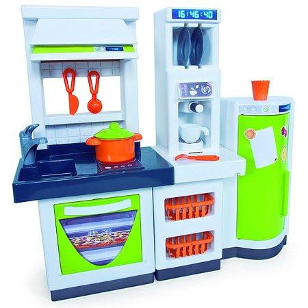Игровой набор Palau Toys Модульная кухня с холодильником и набором Хозяюшки