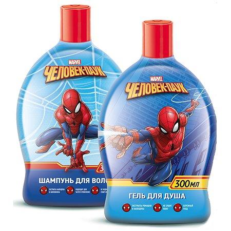 Набор подарочный Spider-man шампунь 300мл+гель для душа 300мл 34931