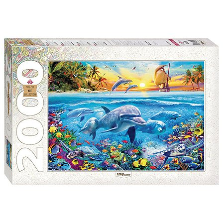 Пазл Step Puzzle Дельфины 2000 элементов 84032