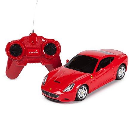 Машинка радиоуправляемая Rastar Ferrari California 1:24 красная