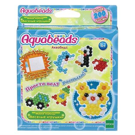 Мини-набор для творчества Aquabeads Веселые игрушки