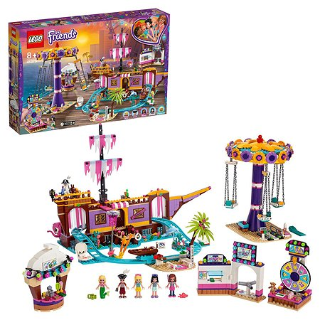 Конструктор LEGO Friends Прибрежный парк развлечений 41375