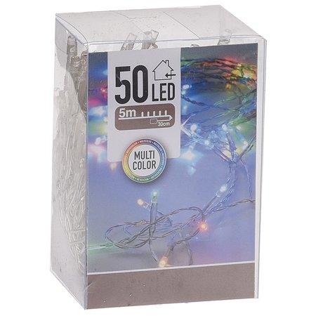 Гирлянда электрическая KOOPMAN 50 LED ламп Мультиколор AXS000763