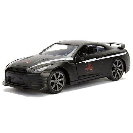 Машинка Jada 1:32 2009 Nissan Gt-r R35 Черная 99742