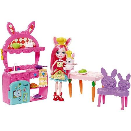 Набор игровой Enchantimals Кукла со зверюшкой Кролик Бри FRH47