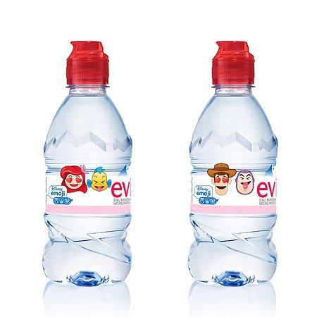 Вода Evian детская натурального природного происхождения 0.33л с 6 месяцев в ассортименте