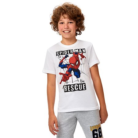Футболка Spider-man белая