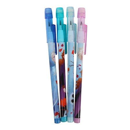 Набор карандашей Sambro Frozen 2 с ластиком 4 шт. DFR2-624
