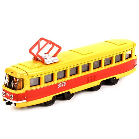 Трамвай Технопарк инерционный 16,5 см