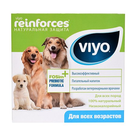 Напиток для собак Viyo Reinforces всех возрастов пребиотический 30мл*7шт
