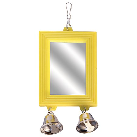 Игрушка для птиц Triol Зеркало Колокольчики 2шт 52181020