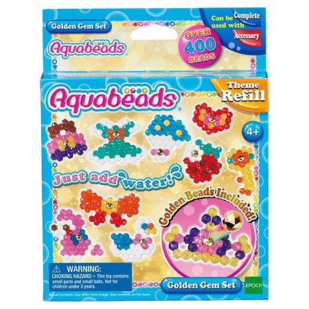 Набор Aquabeads Золотые украшения