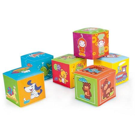 Мягкие обучающие кубики Canpol Babies 6 шт.