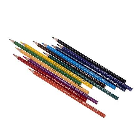 Карандаши Jovi 12цветов в коробке с европодвесом