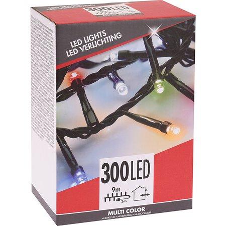 Гирлянда электрическая KOOPMAN 300 LED ламп 9м Мультиколор AX8721701