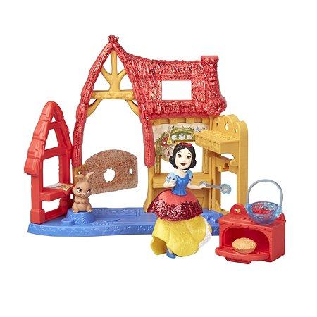 Набор игровой Disney Princess Hasbro Кукла из мультфильма Домик Белоснежки E3084EU4