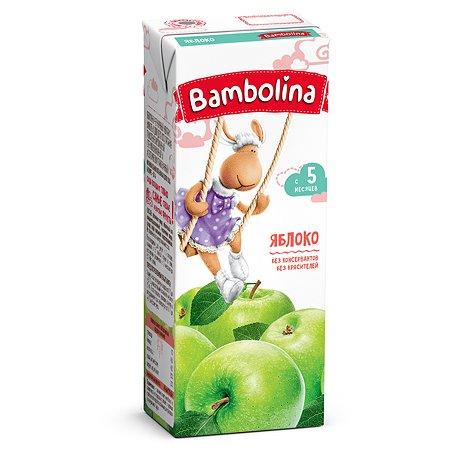 Сок Bambolina яблочный 200мл 4месяцев
