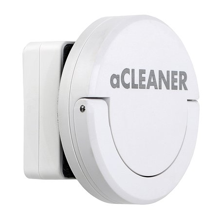 Скребок AquaLighter aCleaner магнитный для стекла до 10мм Белый