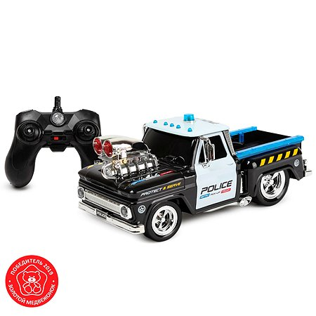 Машинка Mobicaro РУ Полицеский пикап с нагнетателем MK8129
