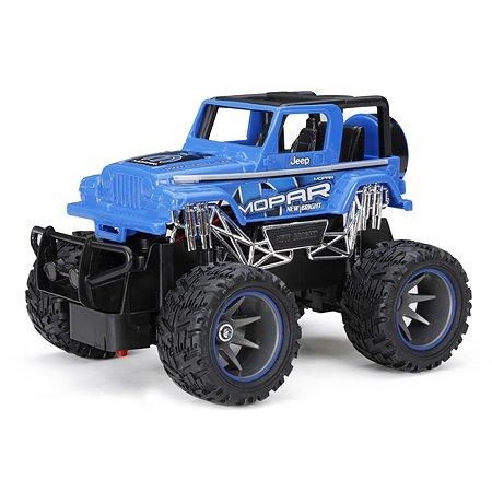 Машина New Bright РУ 1:24 Wrangler Синия 2424