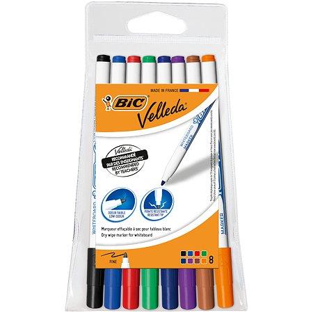 Маркеры цветные BIC Велледа 8цветов 1199005728