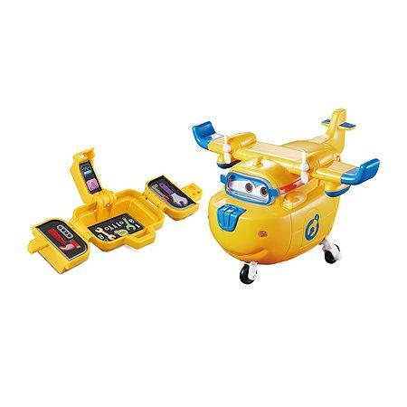 Самолет Super Wings Донни с чемоданчиком со световыми и звуковыми эффектами