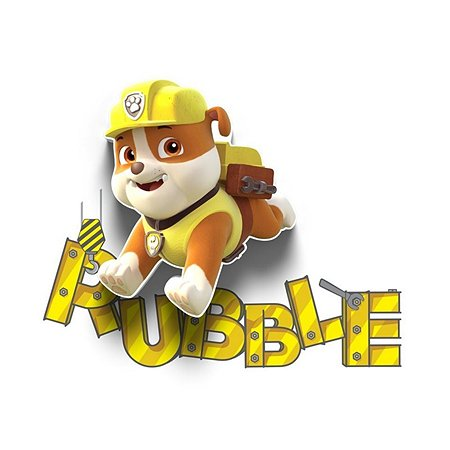 Светильник 3D 3DLightFx Paw Patrol Rubble Mini