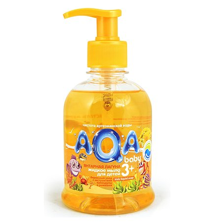 Жидкое мыло AQA baby Янтарная лагуна 300мл