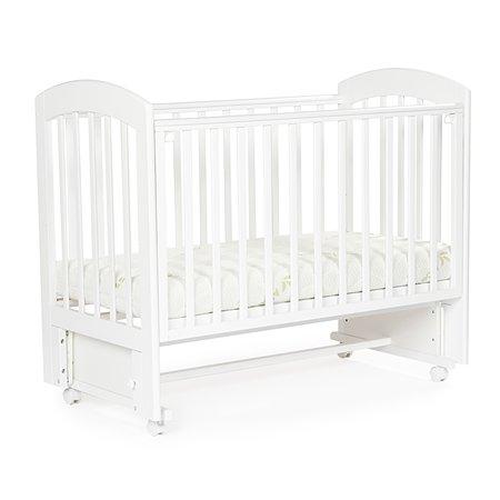Кровать Bebizaro Regency универсальный маятник White