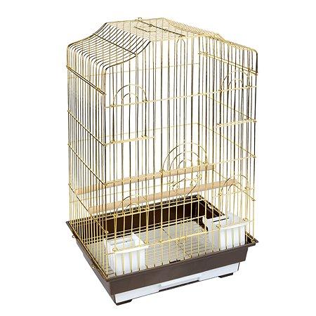 Клетка для птиц Triol 6112G Золото