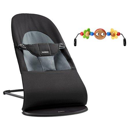 Кресло-шезлонг BabyBjorn Balance Soft +игрушка 6050.01