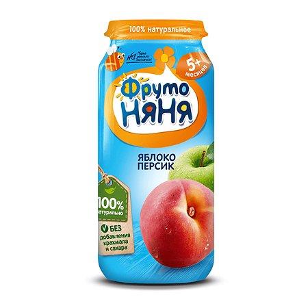 Пюре ФрутоНяня из яблок и персиков 250 г с 5 месяцев