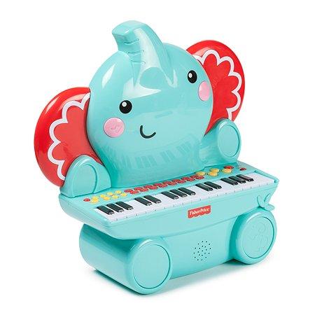 Музыкальная игрушка Fisher Price Пианино Слоненок