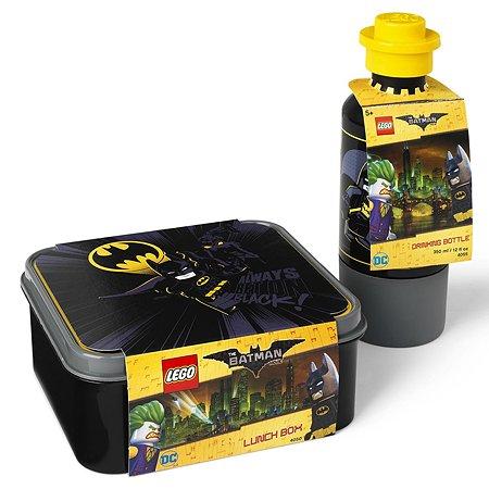 Ланч бокс LEGO и бутылочка Batman