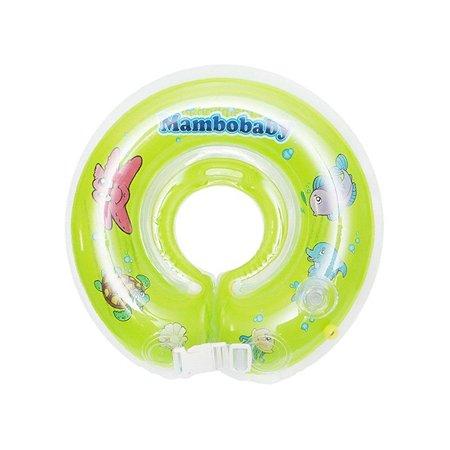 Круг для купания на шею Mambobaby 0-24 мес. зеленый