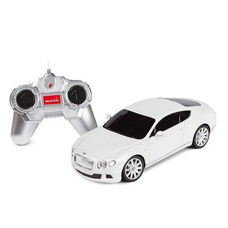 Машина Rastar РУ 1:24 Bentley Contin GT Белая