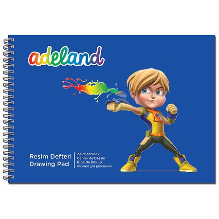Альбом для рисования Adel 15 листов 2 дизайна в ассортименте