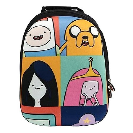 Рюкзак школьный Proff (черный/цветной)