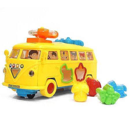 Игрушка музыкальная MY ANGEL Автобус-сортер движущаяся MA00312876