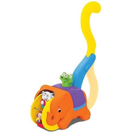 Каталка с ручкой Kiddieland Цирковой слон